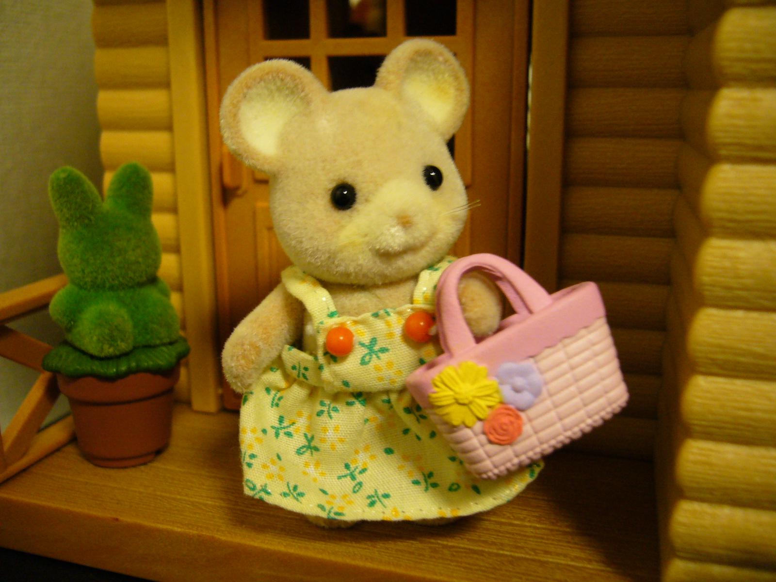 【シルバニア】バッグ&アクセサリー(お母さん用、女の子B)公式オンラインショップ 新商品  画像有