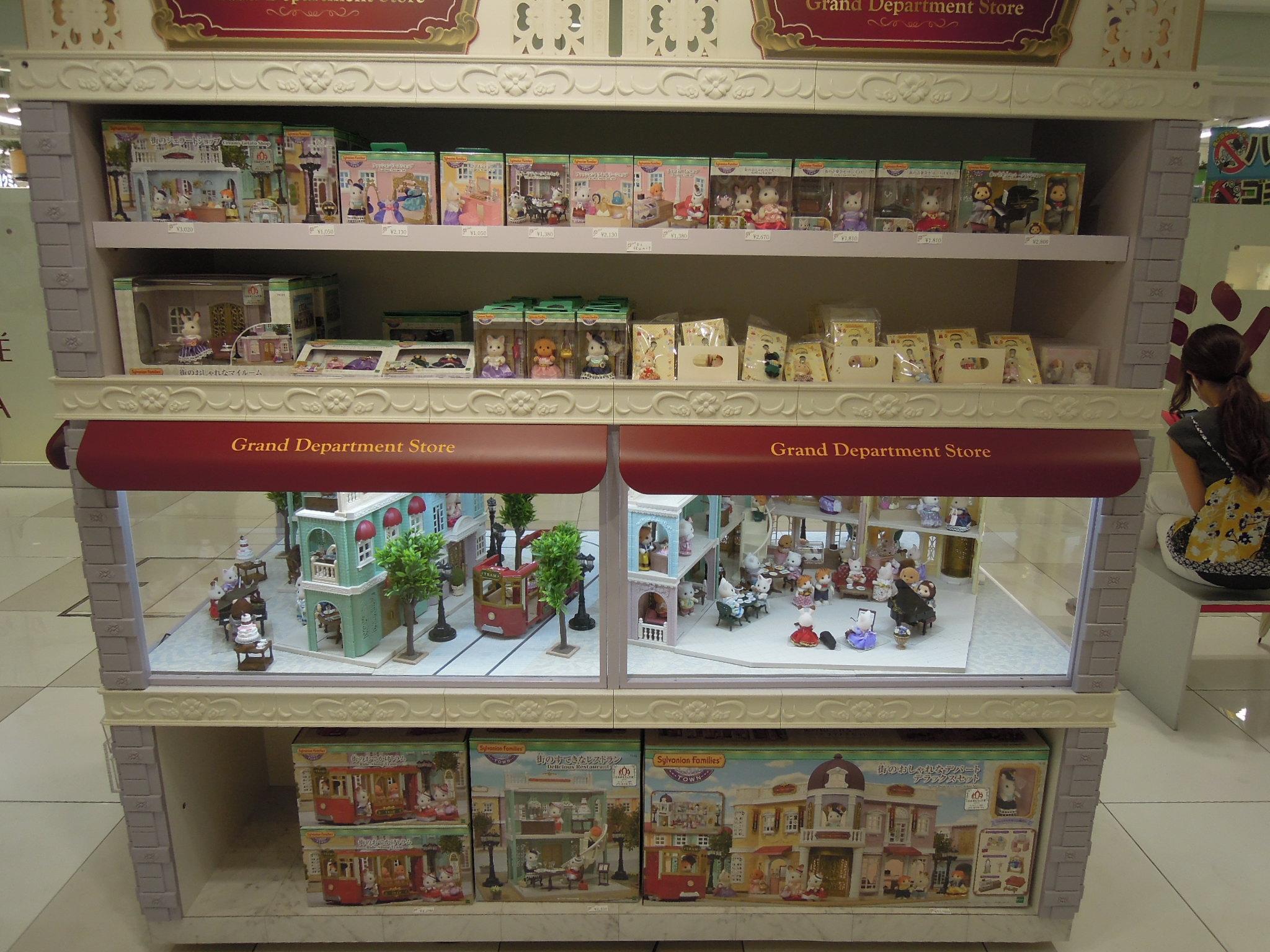 【シルバニア】大阪梅田シルバニアファミリーポップアップストア④ ディスプレイと売り場写真、盛り盛り